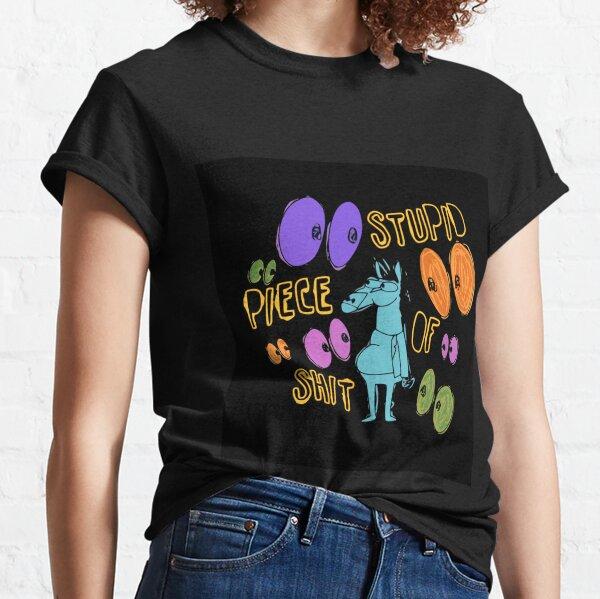 Bojack Horseman - Estúpido pedazo de mierda Camiseta clásica