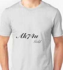 Ak74u Gold Black ops Addict Unisex T-Shirt