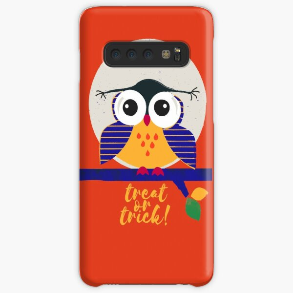 Big Eyed Owl - halloween illustartion Samsung Galaxy Snap Case