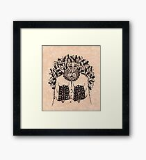 Judge Lord Hypatomaxx Framed Print
