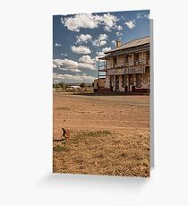 Rusticana by Cathie Tranent Greeting Card