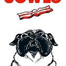 JOWLS Pug Movie Poster Parody by Veronica Guzzardi