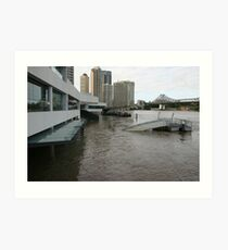 Brisbane Floods Jan. 2011 Art Print