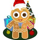Christmas - Ginger Bread Man by Adamzworld