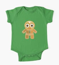 Ginger Bread Man (2) One Piece - Short Sleeve