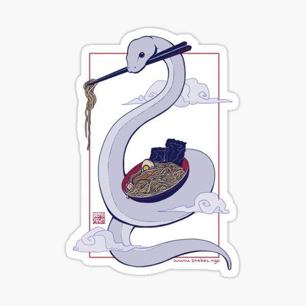 Danger Noodle Sticker