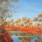 """Outback Creek"" by Allison  Shaw"
