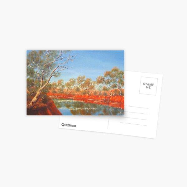 """Outback Creek"" Postcard"