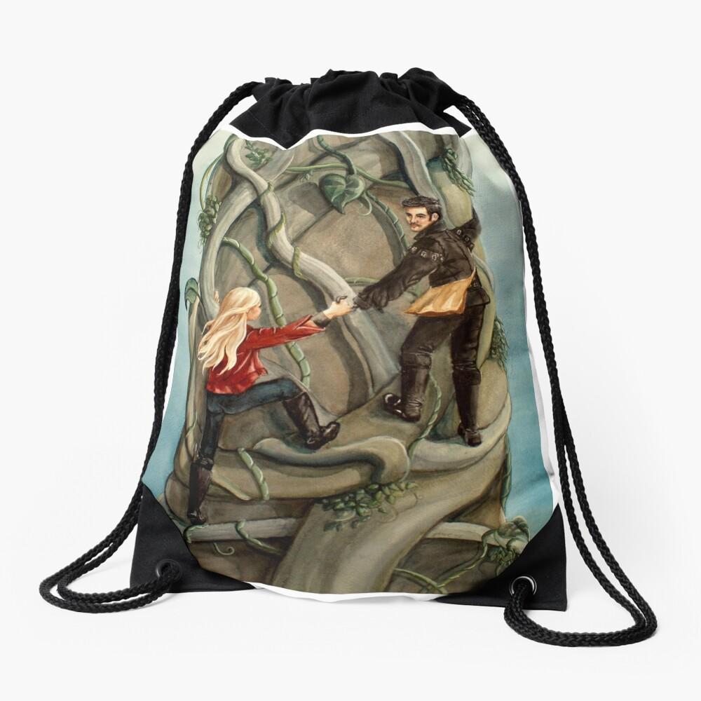 First Beanstalk? Drawstring Bag