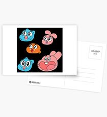 The Amazing World of Gumball Postcards