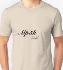 Mp5k Gold Black ops Addict Unisex T-Shirt