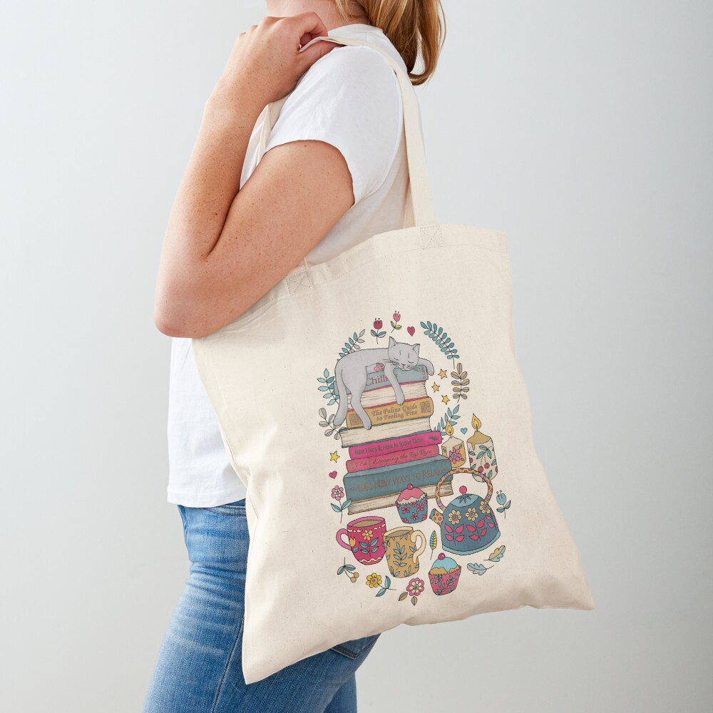 How to Hygge Like a Cat Tote Bag