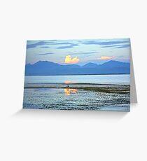 Marshland Dawn 2 Greeting Card