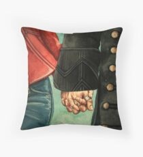Need a Hand, Love? Throw Pillow