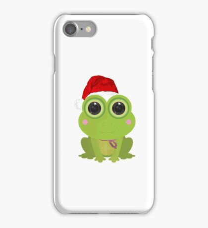 Christmas Frog iPhone Case/Skin