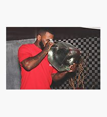 The Game and his $5000 bottle of Patron Photographic Print