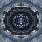 Feeling Blue Kaleidoscope by pattistudio