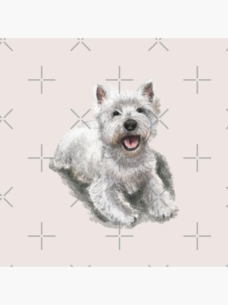 The West Highland Terrier by elspethrose