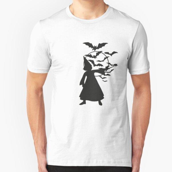 Bats Witch Slim Fit T-Shirt