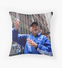 preaching to the converted. Throw Pillow