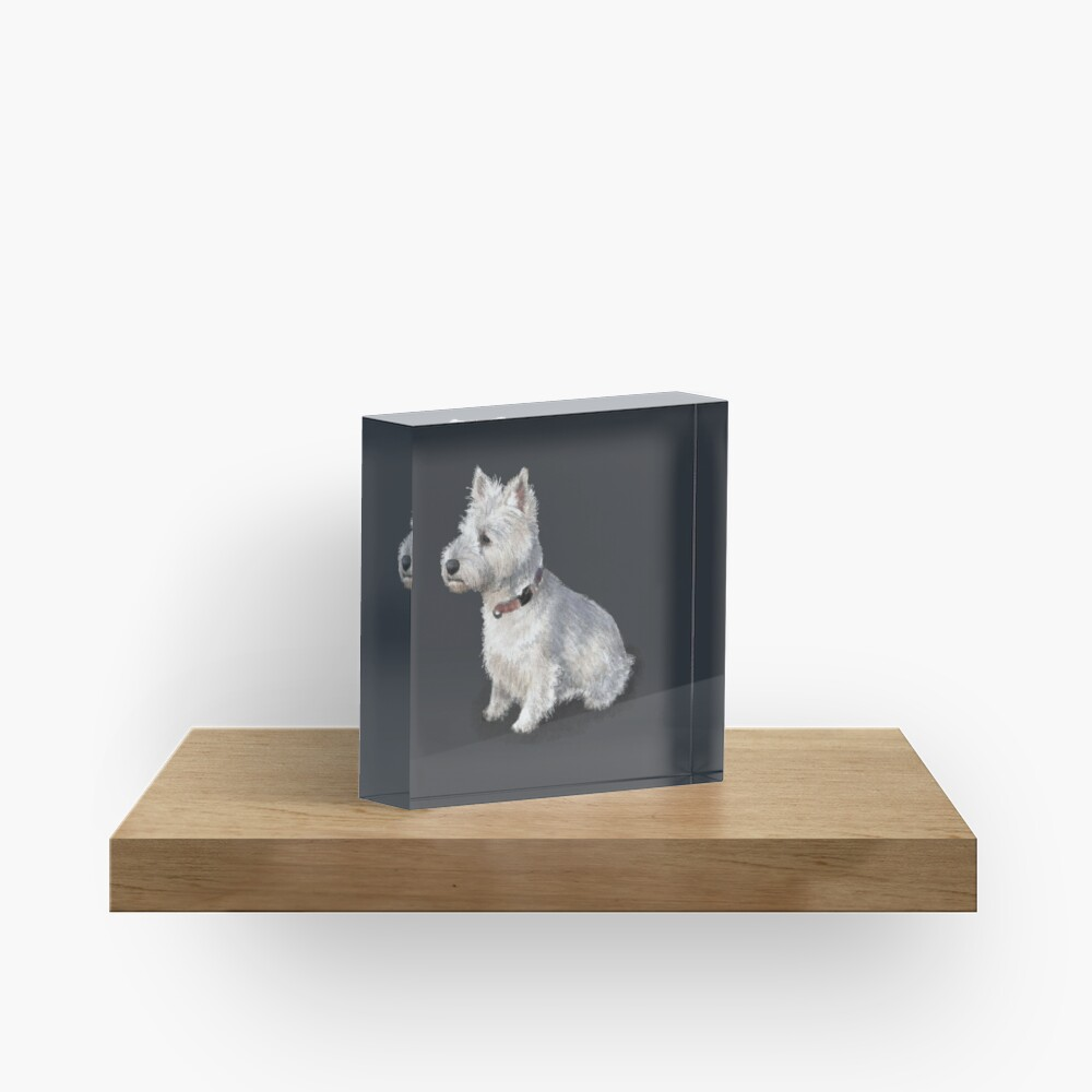 The West Highland Terrier Acrylic Block
