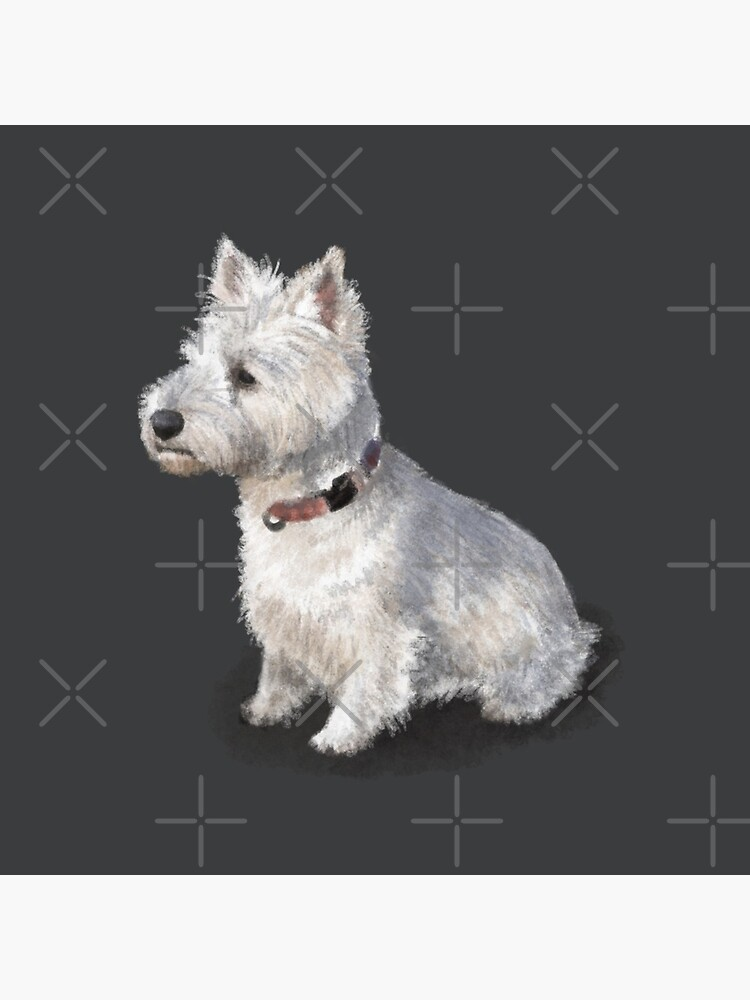The West Highland Terrier by elspethrose