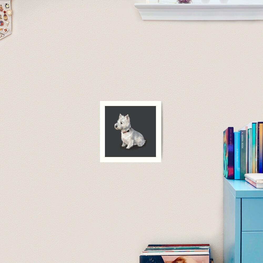 The West Highland Terrier Art Print
