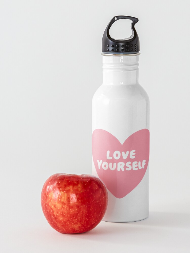 Alternate view of Love Yourself  Water Bottle