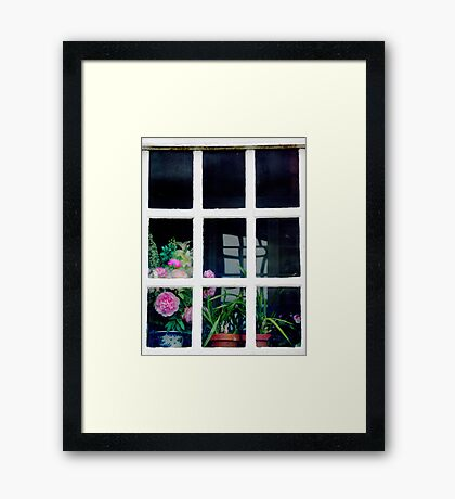 The Potting Shed Framed Print