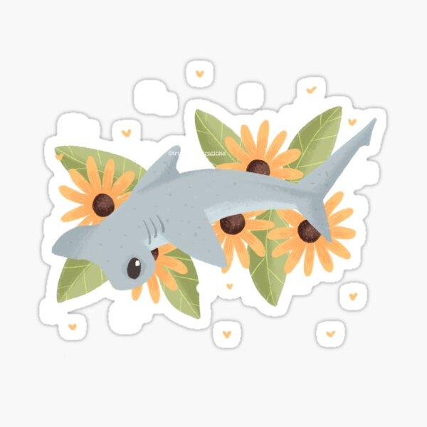 Hammer Head Shark Sticker