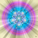 Sacred Geometry 19 by Endre