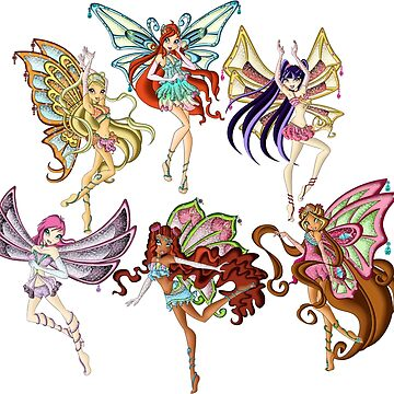 Winx Club Enchantix by starfiregal92