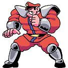M Bison from Street Fighter by theknobbywood