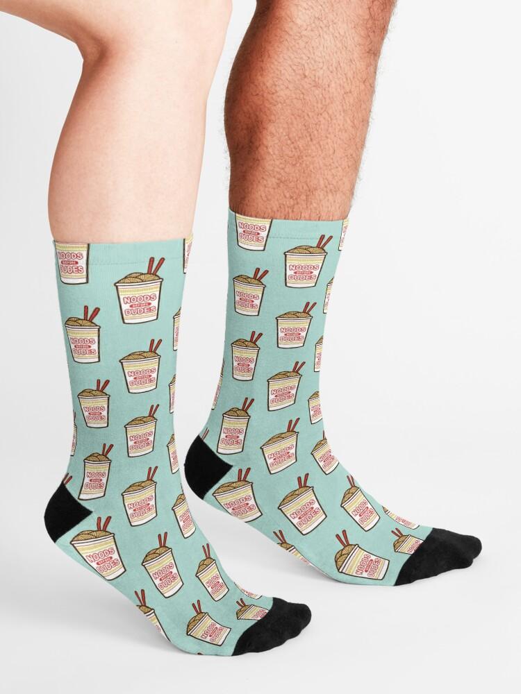 Alternate view of Noods Before Dudes Socks