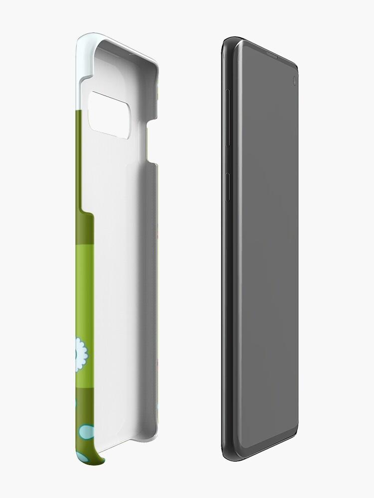 Vista alternativa de Funda y vinilo para Samsung Galaxy Borja, el Indio de la Pluma Roja