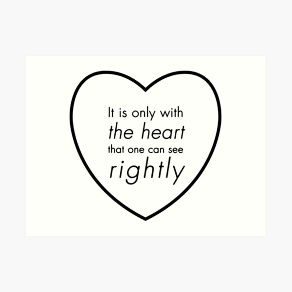 ART PRINT Beauty and the Beast Quote Princess Disney Gift Love Black and White