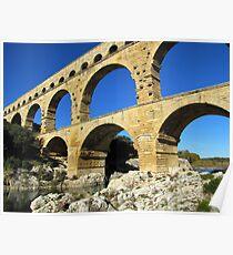 Pont du Gard, France Poster