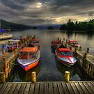 boat dock HDR by adouglas
