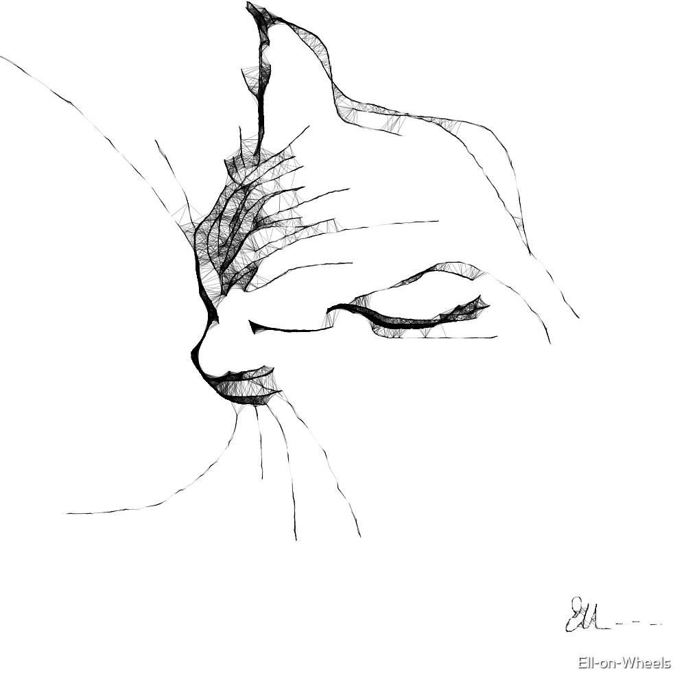 Asleep on my lap ... by Ell-on-Wheels