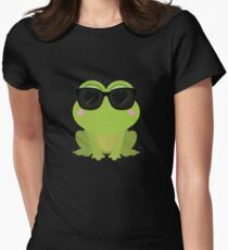 Cool Frog Women's Fitted T-Shirt