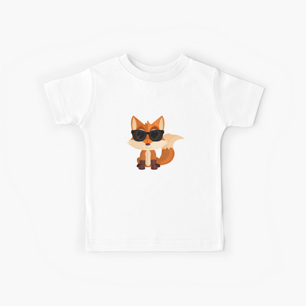 Cooler Fuchs Kinder T-Shirt