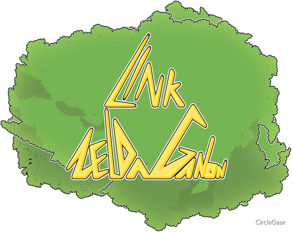 Link Zelda Ganon! by CircleGear