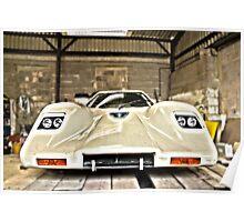 Maclaren M6 inspired kit car Poster