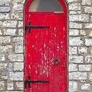 Old Red Door by BlinkImages