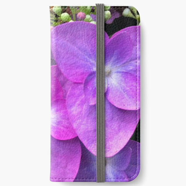 Hydrangea Glory iPhone Wallet