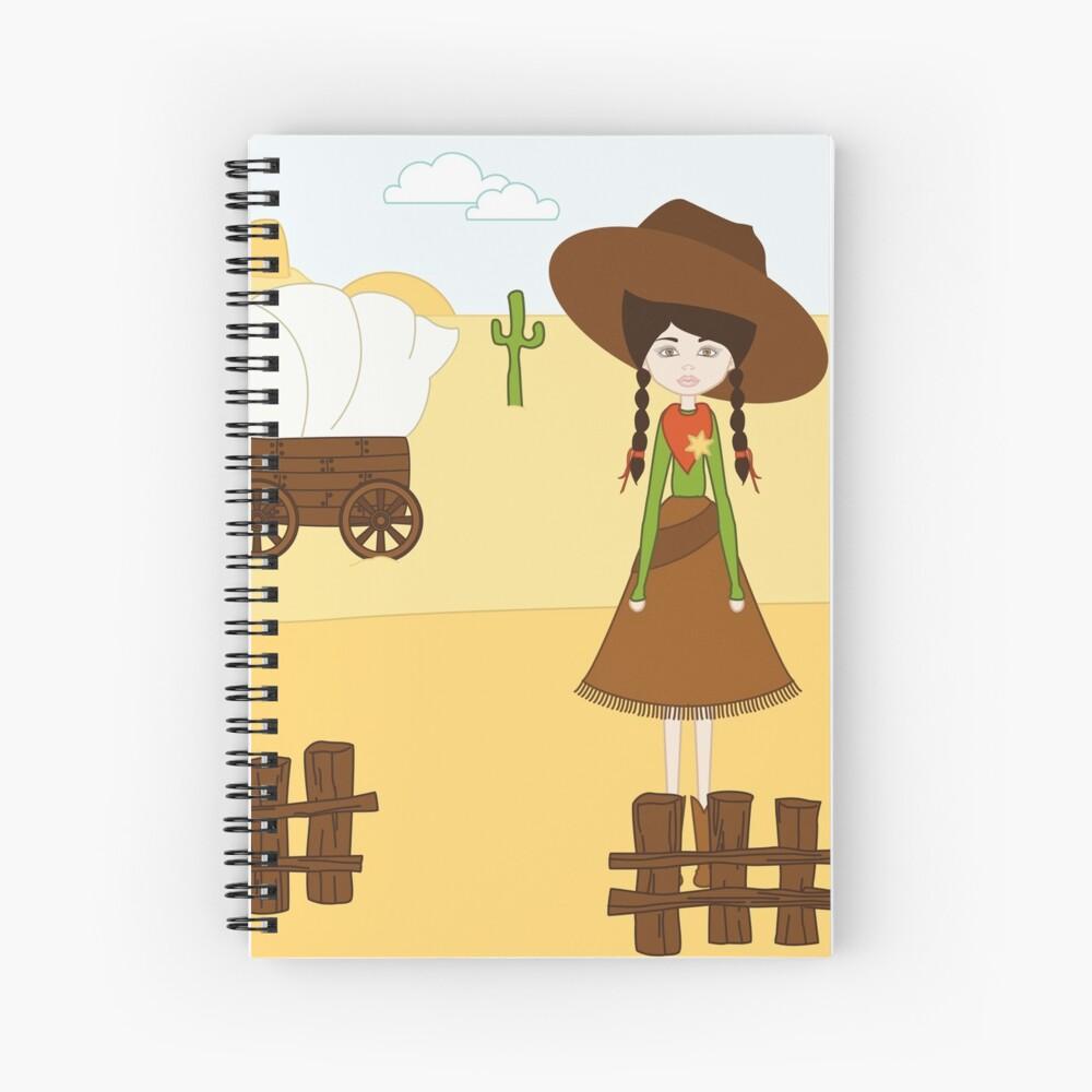 Celeste, la Vaquera del Oeste Cuaderno de espiral