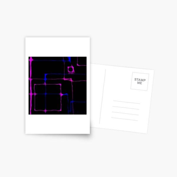 Scribbler abstract Postcard