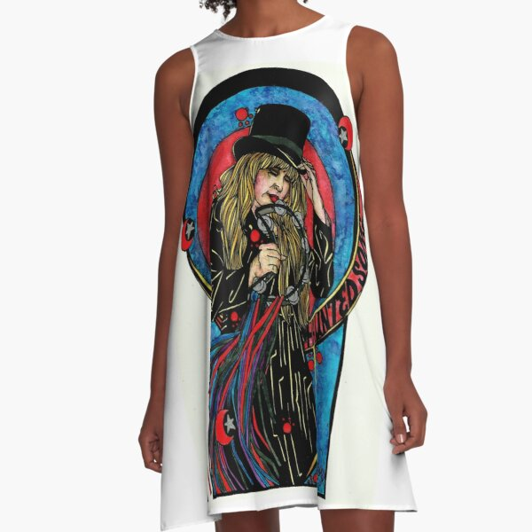 Haunted Song A-Line Dress
