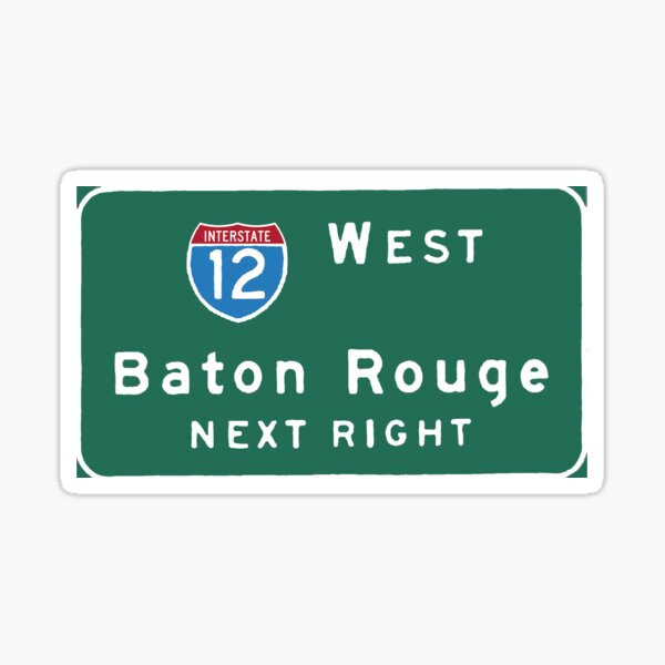 Baton Rouge Sticker