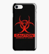 Zombies at Work iPhone Case/Skin
